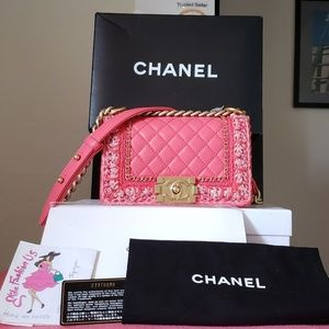 Chanel small jacket Lambskin bag
